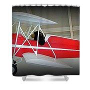 Flying Bear  Shower Curtain