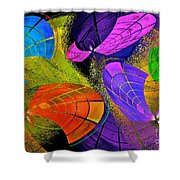 Flying Colors Shower Curtain