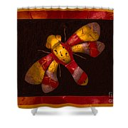 Flying Fantasies Of Light Abstract Painting Shower Curtain
