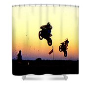 Flying Frenchmen Shower Curtain