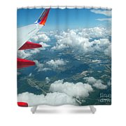 Flying High 3 Shower Curtain