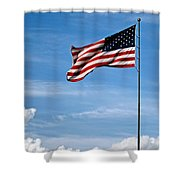 Flying High 7 Panoramic Shower Curtain