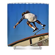 Flying High - Action Shower Curtain
