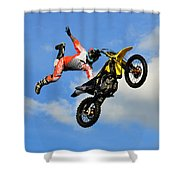 Flying One Shower Curtain