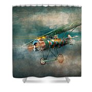 Flying Pig - Acts Of A Pig Shower Curtain
