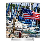 Flying Proud By Diana Sainz Shower Curtain