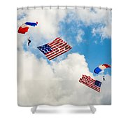 Flying The Flag Shower Curtain