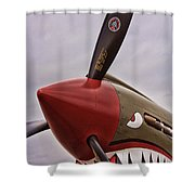 Flying Tiger P-40 Shower Curtain
