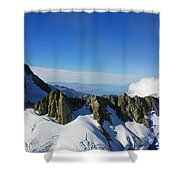 Flying To Fox Glacier #2 Shower Curtain