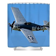 Fm-2 Flyby Shower Curtain