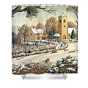 Focus On Christmas Time Shower Curtain