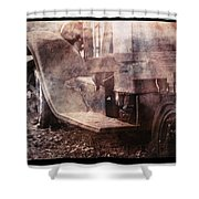 Fog And Rust Shower Curtain