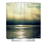 Fog Bank Shower Curtain