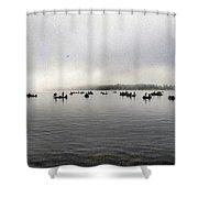 Fog Delay Shower Curtain
