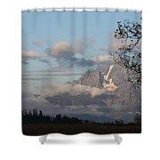Fog In The Tetons # 2 Shower Curtain