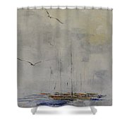 Fog Lifting Shower Curtain