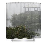 Fog On The Prairie Shower Curtain