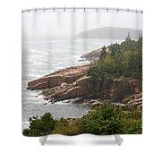Fog Over The Sea  Shower Curtain