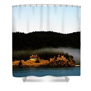 Fog Rolling By Shower Curtain