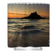 Fogarty Creek Sunset Shower Curtain
