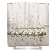 Fogged In Again Shower Curtain by Bob Orsillo
