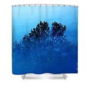 Fogged Out Shower Curtain