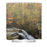 Foggy Brandywine Falls Shower Curtain