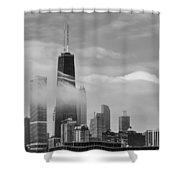 Foggy City Shower Curtain
