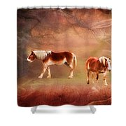 Foggy Day - Featured In Funky Images Group Shower Curtain