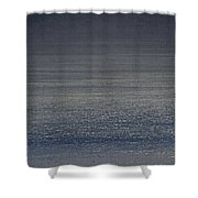 Foggy Day Over The Pacific Ocean Shower Curtain