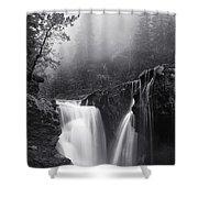 Foggy Falls Shower Curtain
