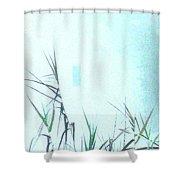 Foggy  Marsh Mornng Shower Curtain