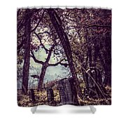 Foggy Memories Shower Curtain
