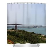 Foggy Morning At The Bay Shower Curtain