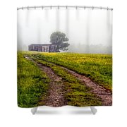 Foggy Morning Shower Curtain by Bob Orsillo
