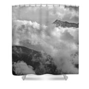 Sky And Earth Shower Curtain