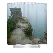 Foggy Overlook Shower Curtain