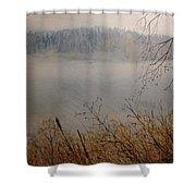 Foggy River Shower Curtain