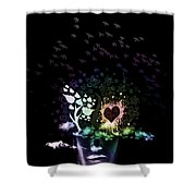 Foggy Thoughts Shower Curtain