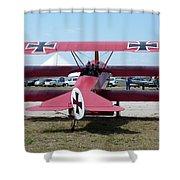 Fokker Dr.i Shower Curtain