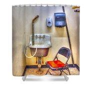 Folding Chair Shower Curtain