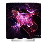 Folding Light Shower Curtain