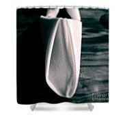 Folding Senses Shower Curtain