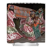 folk dance group from Madagascar 2 Shower Curtain