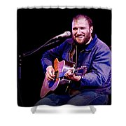 Folk Musician David Bazan In Concert Shower Curtain