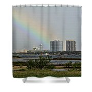 Follow That Rainbow Shower Curtain