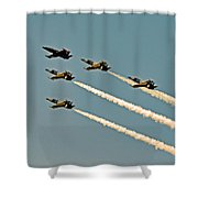 Follow The Leader  Shower Curtain