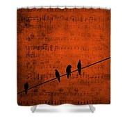 Follow The Music Shower Curtain