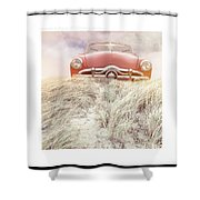 Follow Your Dreams Signed Mini Shower Curtain