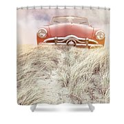 Follow Your Dreams Square Shower Curtain